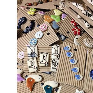 Incomparable Handmade Buttons