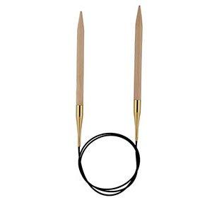 KnitPro 40cm Circular Knitting Needles Basix Birch