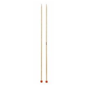 KnitPro 25cm Straight Knitting Needles Basix Birch